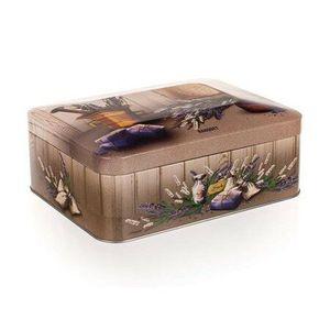 Banquet Lavender blaszane pudełko do herbaty, obraz