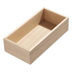 Organizer kuchenny z drewna paulownia iDesign, 25, 4x12, 7 cm obraz