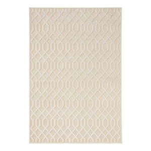 Kremowy dywan z wiskozy Mint Rugs Caine, 80x125 cm obraz