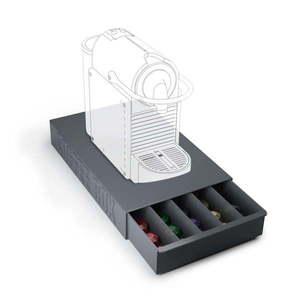 Czarny pojemnik na kapsułki z kawą Balvi Coffee Box obraz