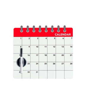 Magnetyczna tablica na lodówkę Balvi Calendar obraz